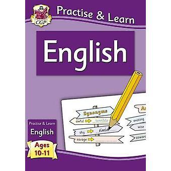 Käytännössä & Opi - englanti (ikä 10-11) CGP Books - CGP kirjat - 978