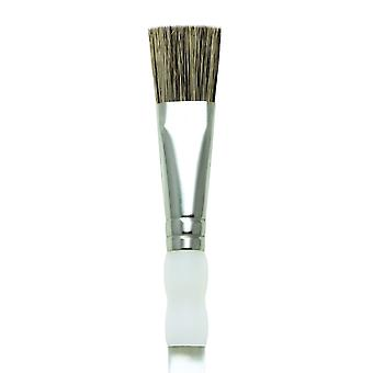 Royal & Langnickel Soft Grip Stiff Hog Bristle Brush SG750 Glaze 3/4