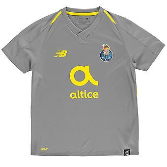 New Balance Kids Boys Porto entfernt Shirt 2018 2019 Junior Domestic Short Sleeve V