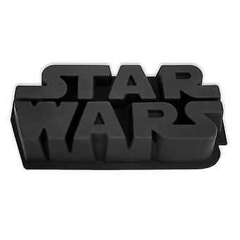 Hvězdné války logo pečicí koláč, černý, vyrobený ze silikonu.