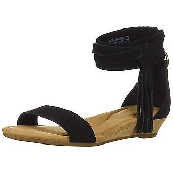 Koolaburra Womens Saige Suede Open Toe Special Occasion Espadrille Sandals