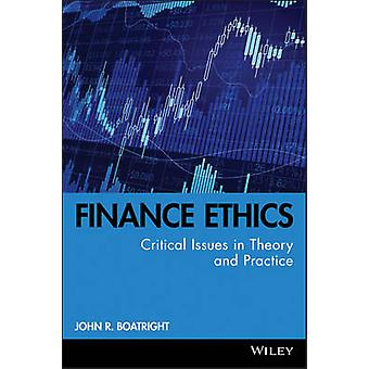 Finance Ethics Kolb series by Boatright