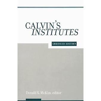 Calvins instituts de MCKIM & DONALD K