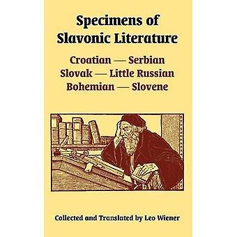 Specimens van de Slavische literatuur Kroatisch-Servische Slowaakse weinig Russische Boheemse Sloveens door Wiener & Leo