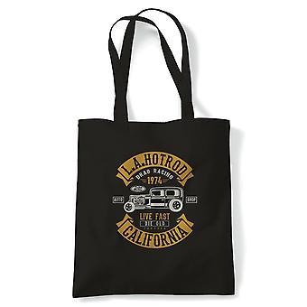 LA Hot Rod California. Classic Muscle Cars - Tote - Gift