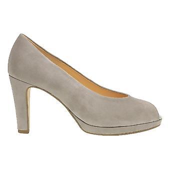 Gabor Platform Peeptoe Court Shoe - Cain - 21.390