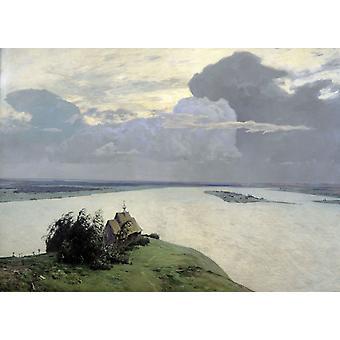 Ewige Ruhe, Isaac Levitan, 50x37cm