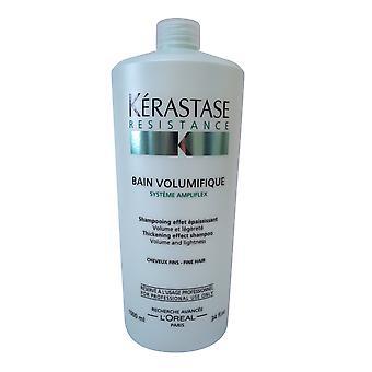 Kerastase Resistance Bain Volumifique Shampoo 1000 ml 34 oz
