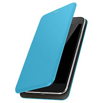 Smartphone Case 4,8 to 5,3 '' Universal Card Holder Function Blue