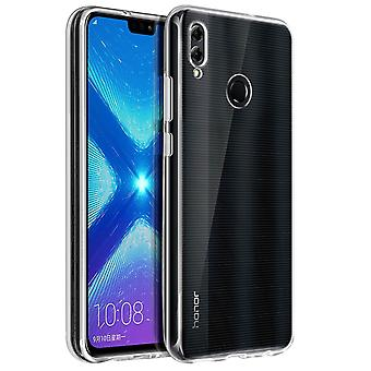 Akashi Honor 8X Soft Protection Crystal Case - Transparent