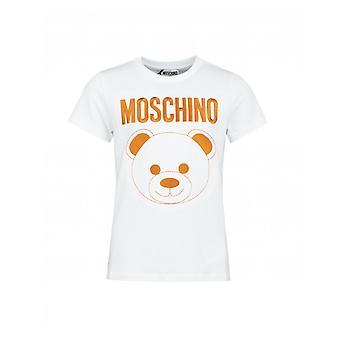 Moschino Embroidered Bear Logo T-shirt