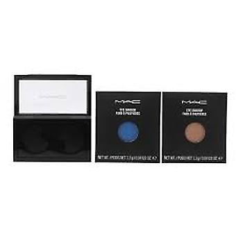 MAC Pro Palette Pro kleur oogschaduw set 2 x 1.3 g Refill-alles wat Glitters + zoet water