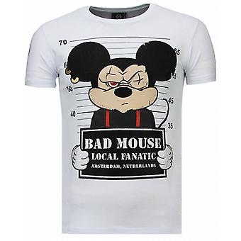 State Prison-tekojalokivi T-paita-valkoinen
