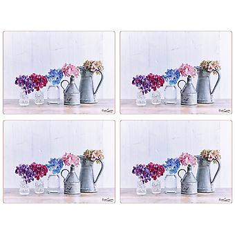 Hydrangea Kollektion Placemat Set von 4