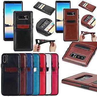 Samsung Galaxy S8 Plus - Gładka powłoka portfela / skórzana obudowa