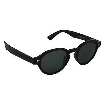Sunglasses Women's Oval - Black/Geel2533_4