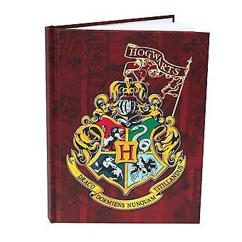 Harry Potter Hogwarts Hard Cover Journal
