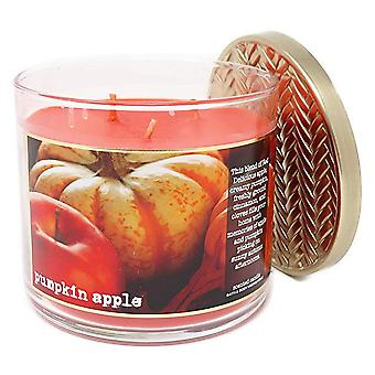 Bad & Body Works gresskar Eple 3 Wick Candle 14,5 oz/411 g