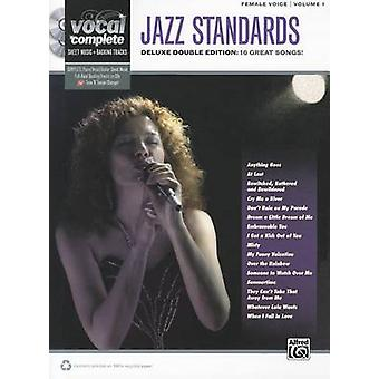 Jazz Standards - Female Voice - Volume 1 - Deluxe Double Edition - 16 Gr