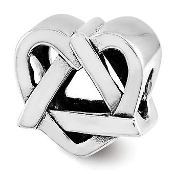 925 sterling sølv adopsjon symbol perle sjarm anheng halskjede smykker gaver til kvinner