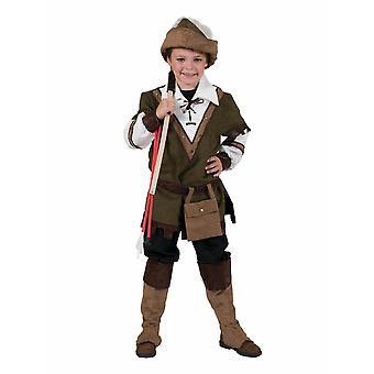 Lasten puku metsä Robin Hood pojat naamioida Carnival Fairy Tale puku