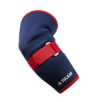 Vulkan Classic Elastic Elbow Sports Injury Sleeve Support With Strap Blue