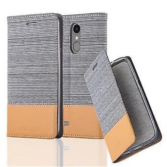 Чехол для LG K8 2017 Складной чехол для телефона - Чехол - с функцией подставки и лотком для карт