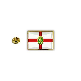Pine PineS PIN rinta nappi PIN-apos; s metalli epoksi perhonen hyppysellinen lippu Aurigny