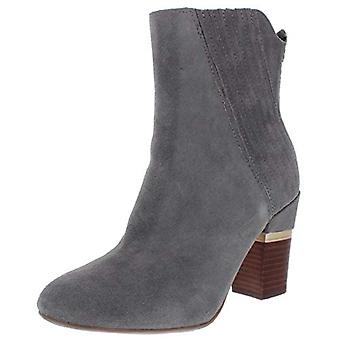Lucca Lane Womens Jadia Suede Stacked Ankle Boots
