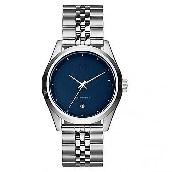 MVMT D-TC01-BLUS Watch - Silver Steel Blue Men's Dial