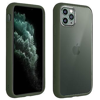 Apple iPhone 11 Pro Max Case, Changable Bumper + Rear, Green, Rhinoshield