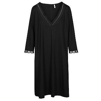Rosch 1194581-11741 Women's Curve Jet Black Nightdress