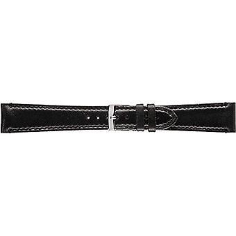 Morellato zwart lederen band 20 mm A01X3495006019CR14 LIGABUE man