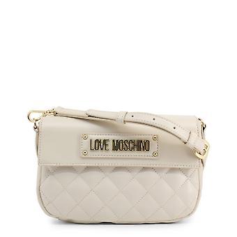 Amore moschino donne's borsa a tracolla - jc4200pp08ka, bianco