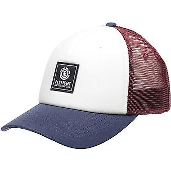 Element Icon Mesh Cap in Oxblood Red