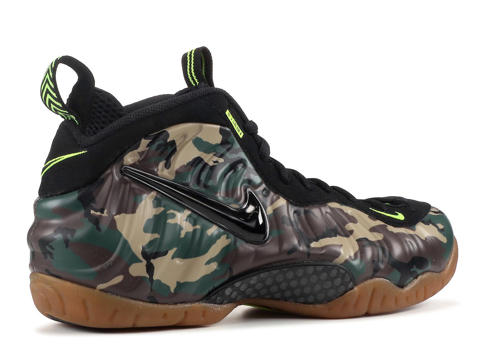 L'air Foamposite Pro Prm Le «camo Vert» - 587547 300 Chaussures