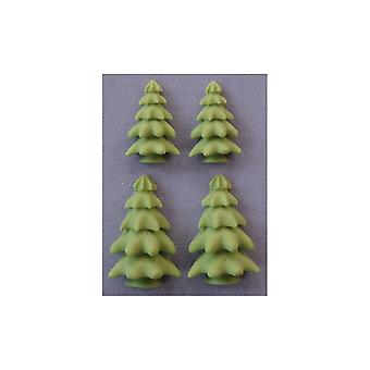 Alphabet Moulds - 3D Tree - Small
