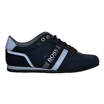 Hugo Boss Footwear Hugo Boss Men's Dark Blue Lighter Lowp Nyth Trainers