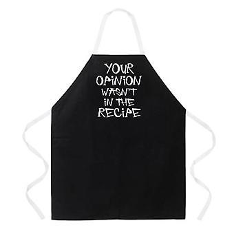 Votre tablier d'opinion