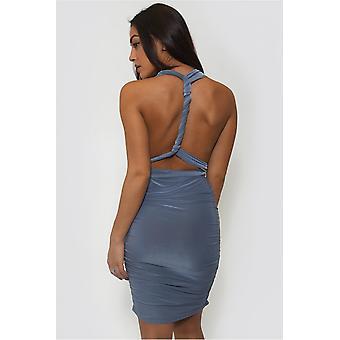 Multiway Slinky Grecian Midi Dress