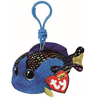 TY Keyclip Beanie Boos Aqua The Fish