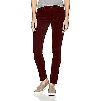 AG Adriano Goldschmied Women's The Prima Cigarette, Deep Currant, Size 26