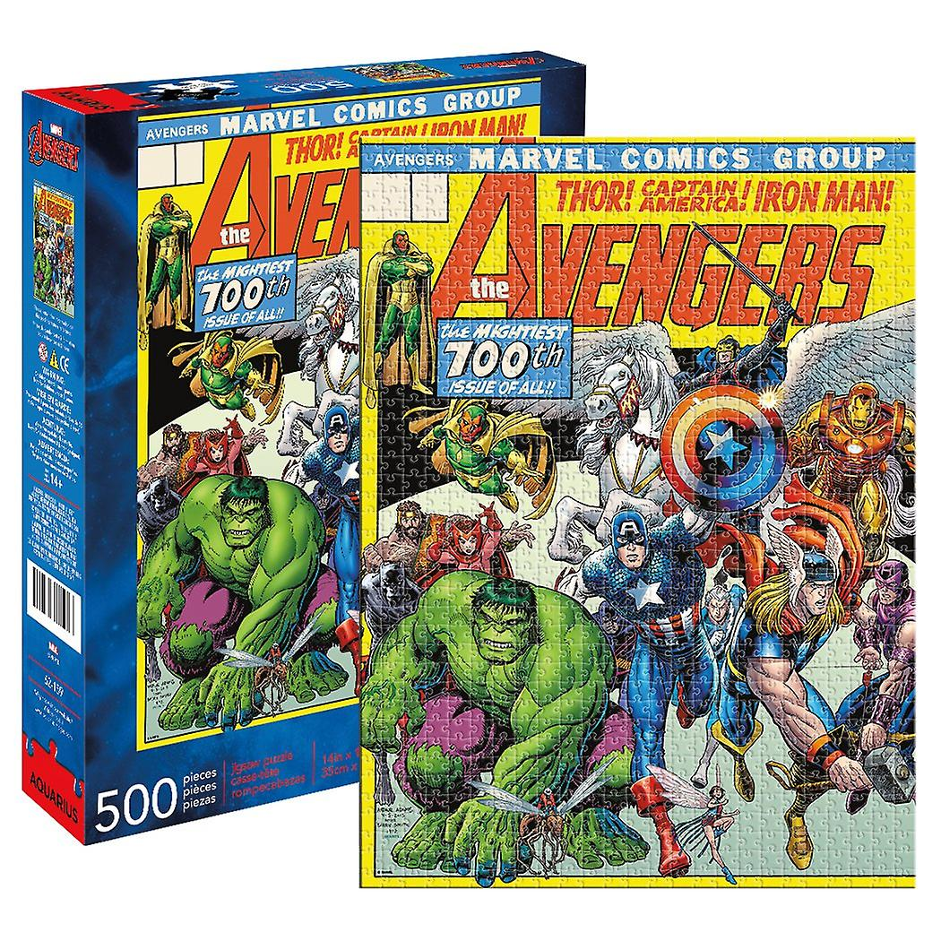 Marvel - avengers cover 500pc puzzle