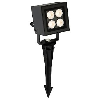 Firstlight Showcase Modern Graphite Outdoor LED Garden Spike