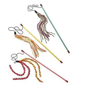Ferplast fiskespö för katt (Pa 5001) (katter, leksaker, Teaser trollstavar)