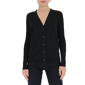Gentry Portofino D738alg0009 Women's Black Cotton Cardigan
