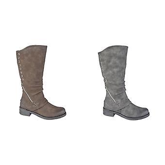 Cipriata Womens/dames Sasha longues bottes