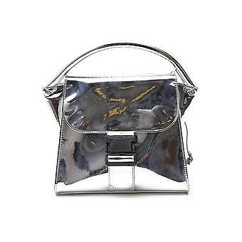 Zucca Zu99ag26227 Women's Silver Pvc Shoulder Bag