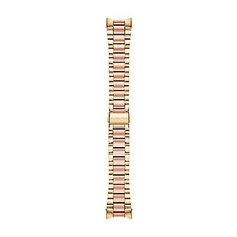 Michael Kors Damen Digitaluhr mit Edelstahl-Band MKT9025