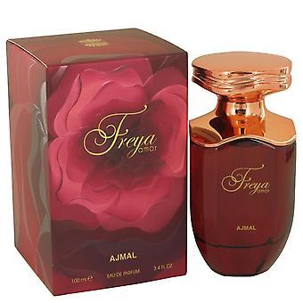 Freya Amor Eau De Parfum Spray By Ajmal 3.4 oz Eau De Parfum Spray